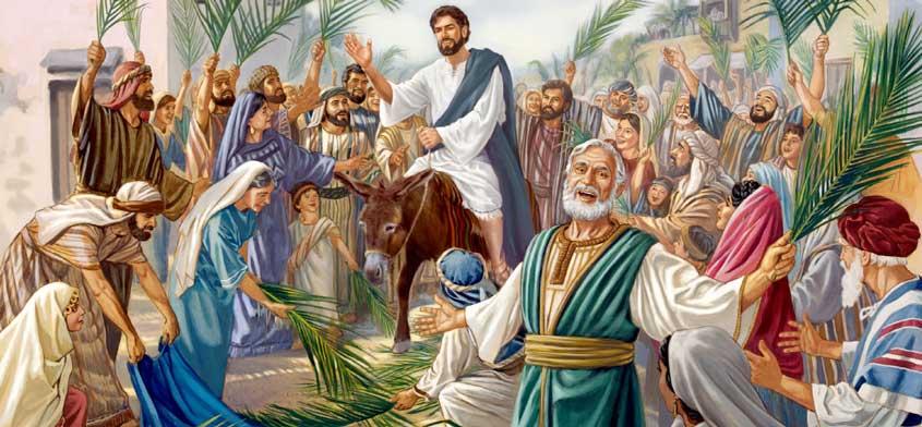 jezusov vhod v jeruzalem