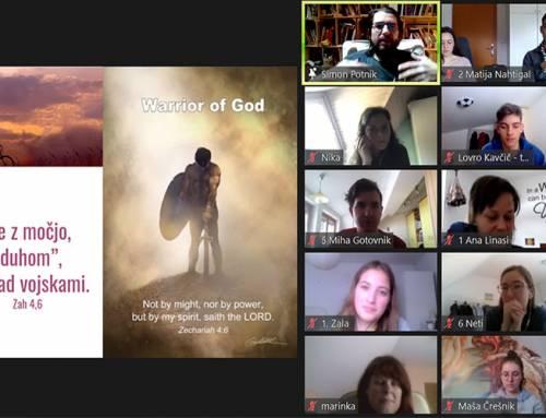 Pismo Bogu po eDuhovnih vajah za mlade